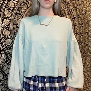 Z SUPPLY BELL SLEEVE BLOUSE